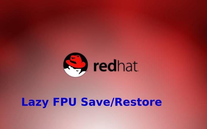Red Hat lançará correções para a falha Lazy FPU Save/Restore