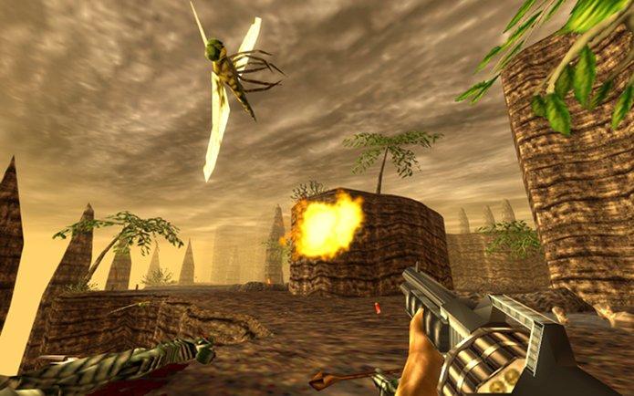 Lançada uma versão remasterizada de Turok: Dinosaur Hunter para Linux