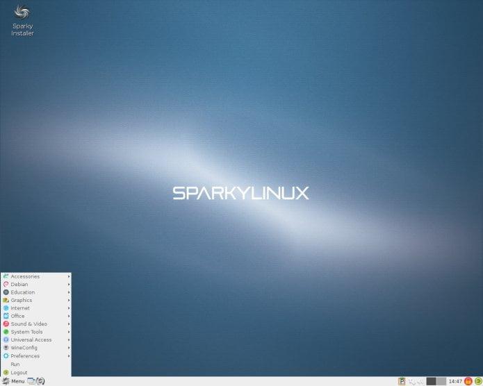 sparky linux 54 - Lançadas SparkyLinux 5.4 GameOver, Multimedia e Rescue Edition