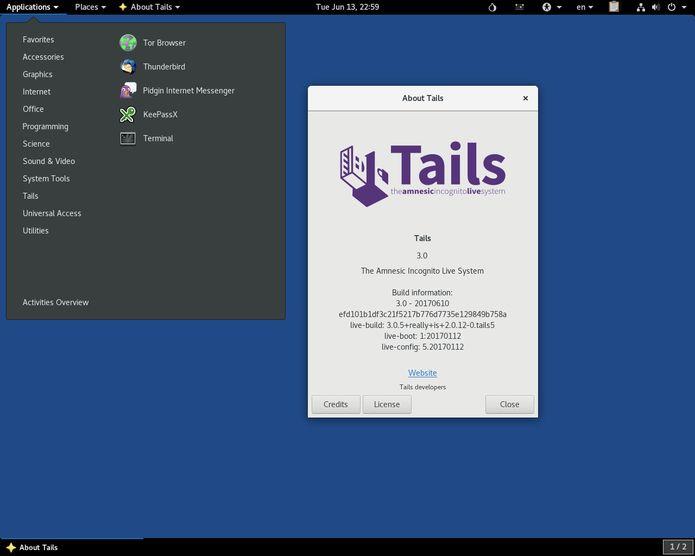 Tails 3.8 lançado com correções para ataques EFAIL no OpenPGP