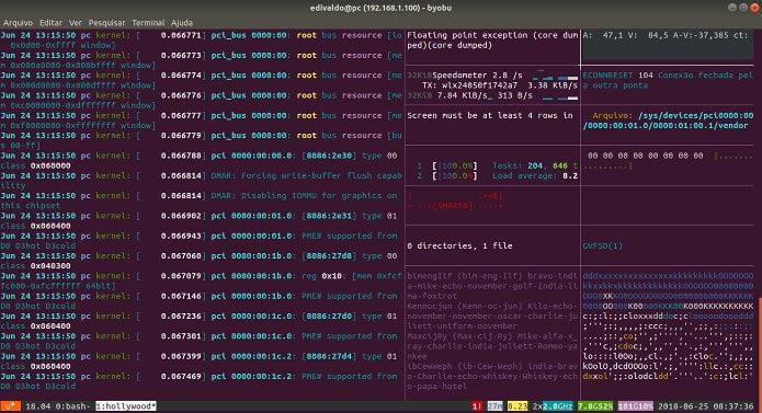 Terminal hacker no Ubuntu? Conheça e instale o Hollywood