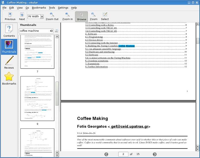 Como instalar o visualizador de documentos Okular no Linux