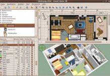 Como instalar o app de design interior Sweet Home 3D no Linux via Snap