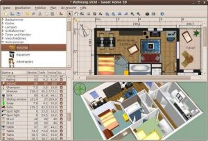 Como instalar o app de design interior Sweet Home 3D no Linux via Snap