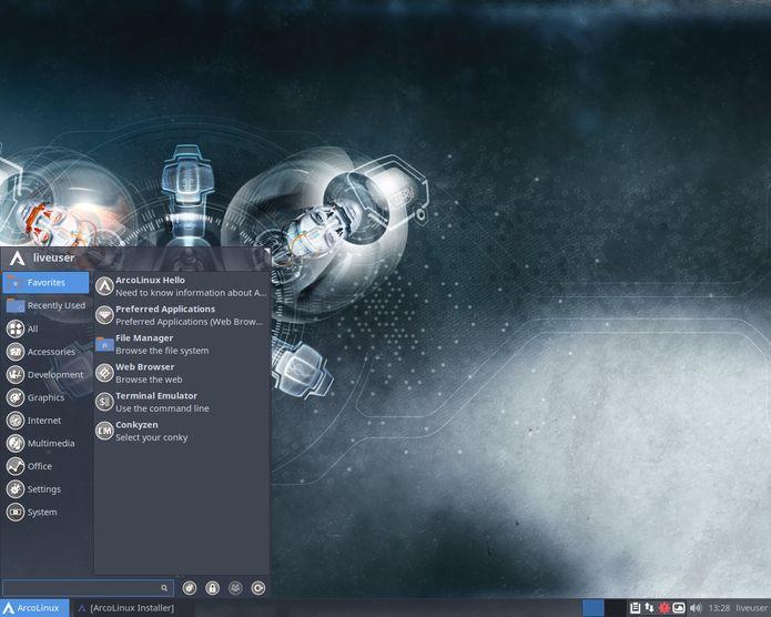 ArcoLinux 6.9.1 lançado - Confira as novidades e baixe
