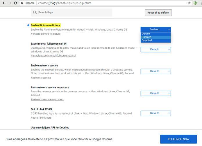 Veja como ativar o Picture in Picture no Google Chrome