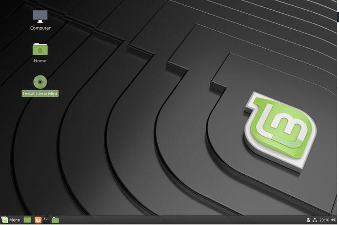 Como atualizar/instalar o Linux Mint 19 usando a mídia de instalação