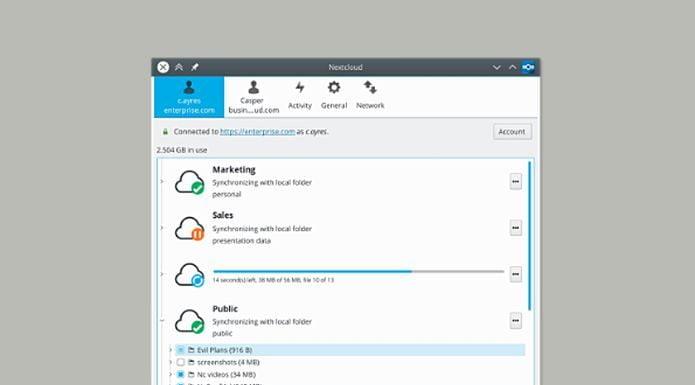 Como instalar o cliente de desktop Nextcloud no Linux via Flatpak