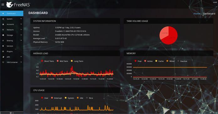 freenas 112 beta1 - FreeNAS 11.2 beta1 lançado - Confira as novidades e baixe