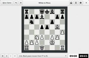 Como instalar o jogo de Xadrez GNOME Chess no Linux via Flatpak