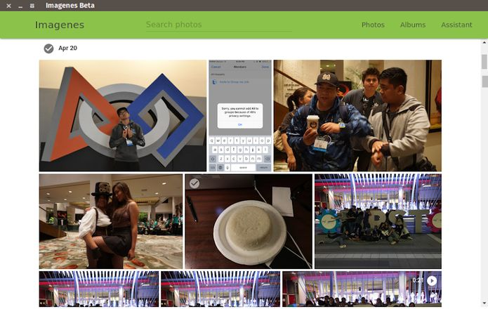 Google Photos no Linux? Veja como instalar o Imagenes via Snap