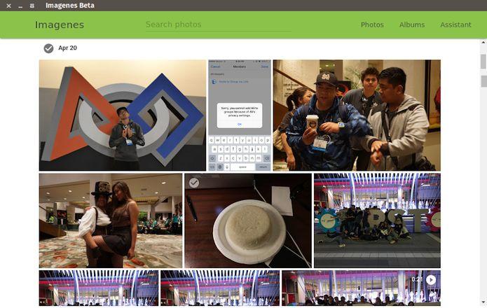 Google Photos no Linux? Veja como instalar o Imagenes via Snap
