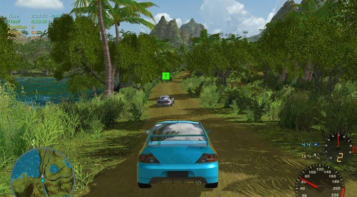 Como instalar o jogo de corrida Stunt Rally no Linux via Flatpak
