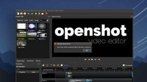 Lançado OpenShot 2.4.2 com novos efeitos de vídeos e mais
