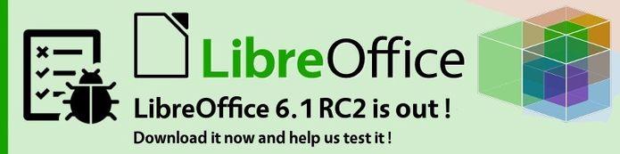 LibreOffice 6.1 RC 2 - Baixe e ajude o projeto a testar o programa