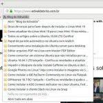 Mozilla planeja remover o leitor de feeds RSS e o Live Bookmarks do Firefox