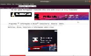 Como instalar o navegador baseado em texto Browsh no Linux