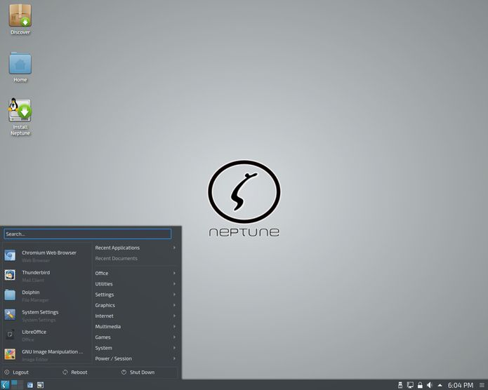 Neptune Linux 5.4 lançado - Confira as novidades e baixe