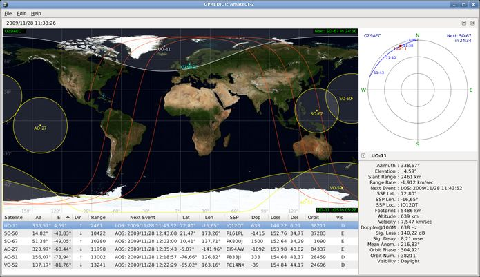 Como instalar o rastreador de satélites Gpredict no Linux via Flatpak