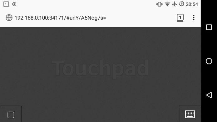 Como instalar o incrível Remote Touchpad no Linux via Flatpak