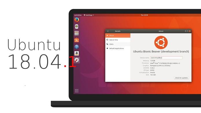 Ubuntu 18.04.1 LTS lançado - Confira as novidades e atualize