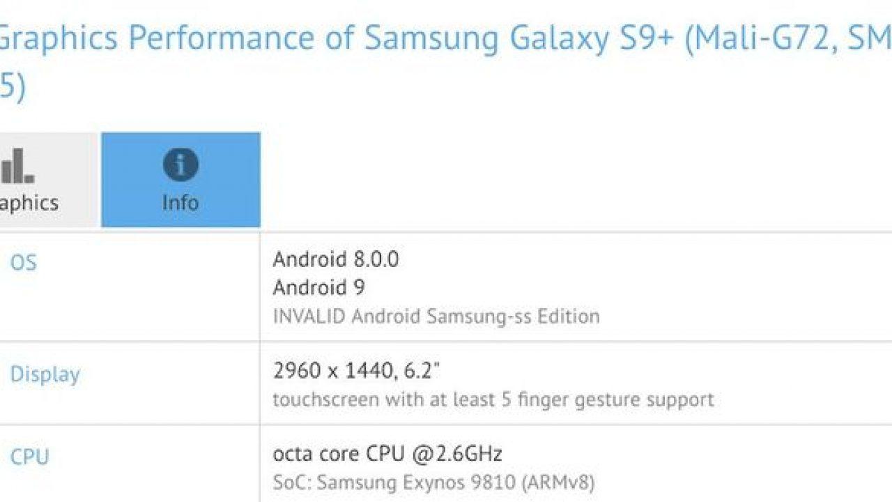Android 9 Pie para o Galaxy S9 - Samsung começou a testar