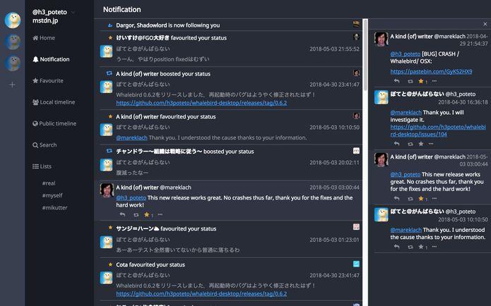 Como instalar o cliente Mastodon whalebird no Linux via Snap