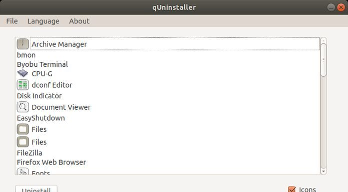 Como desinstalar qualquer programa no Ubuntu com o qUninstaller