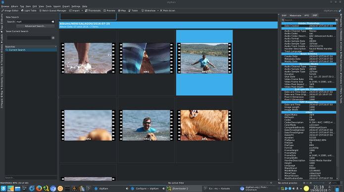 DigiKam 6.0 Beta lançado com gerenciamento de arquivos de vídeo