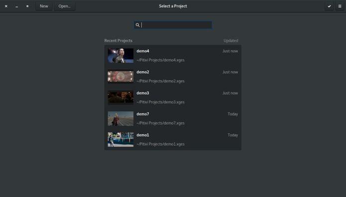 Editor de vídeo Pitivi ganhou redimensionamento na visualização de vídeo