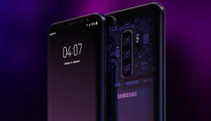 Linha Galaxy S10 da Samsung virá com sensores de impressões digitais