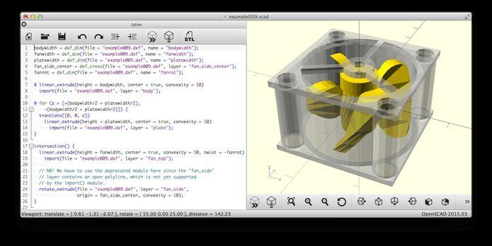 Como instalar o gerador de objetos 3D OpenSCAD no Linux via Flatpak