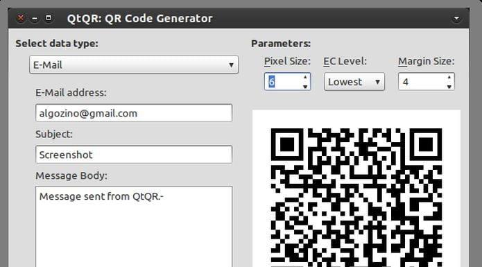 Como gerar e decodificar QR code no Ubuntu com a ajuda do QtQR