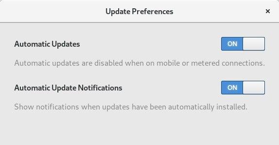 GNOME 3.30 trará atualizações automáticas, mas somente para Flatpaks
