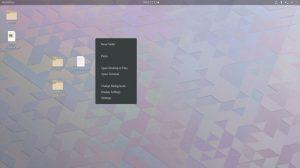 Ícones na área de trabalho estarão de volta no GNOME 3.30