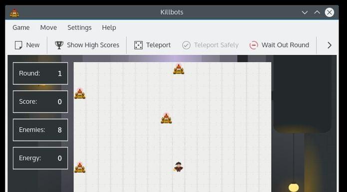 Como instalar o incrível jogo Killbots no Linux via Flatpak