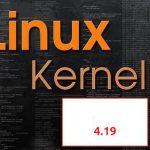 Lançado primeiro Release Candidate do kernel 4.19