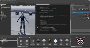 Agora o Motor de jogos Xenko e seu editor são softwares livres
