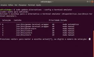 Como mudar o terminal padrão do Ubuntu 18.04 e derivados