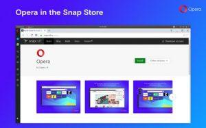 Como instalar o incrível navegador Opera no Linux via Snap