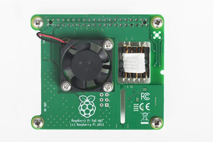 Lançada placa HAT Power-over-Ethernet para o Raspberry Pi 3 Model B+ de U$$ 20
