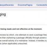 Projeto Debian está discutindo um processo para salvar pacotes