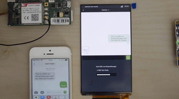 Purism Está Desenvolvendo o App Chatty Para Suportar SMS no Librem 5