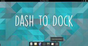Dash to Dock v64 lançado com suporte para o GNOME 3.30 e outras novidades