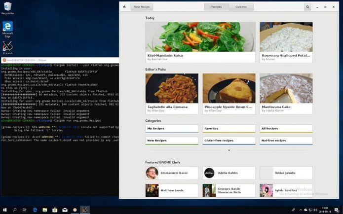 Flatpaks já estão funcionando no Microsoft Windows
