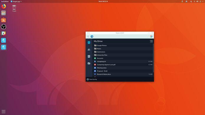 Insync 1.5 lançado com uma interface retrabalhada e outros recursos