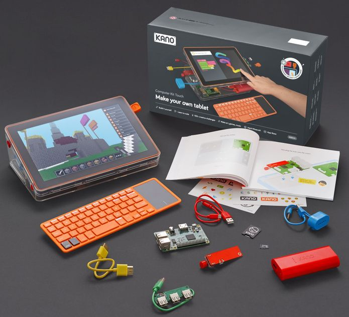 Lançado Kano Computer Kit Touch com Raspberry Pi 3 Model B