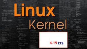 Kernel 4.19 será a próxima série LTS (Long Term Support)