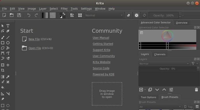Krita 4.1.3 lançado com mais de 100 correções de erros
