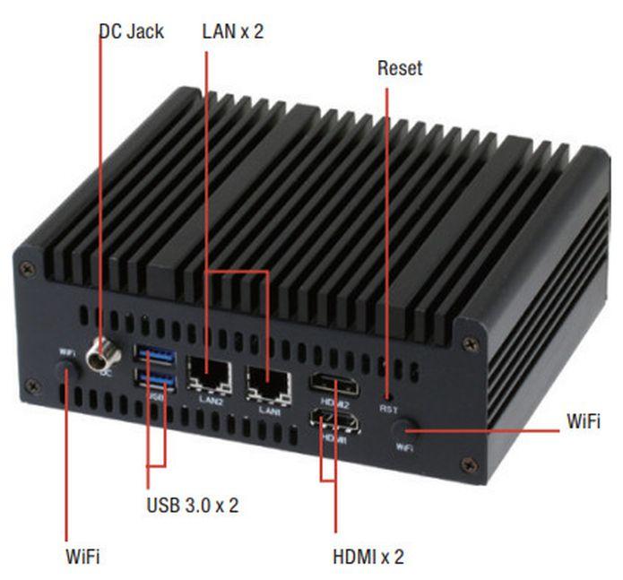 Aaeon lançou um mini-PC Nano-002N preparado para Linux com até 32GB
